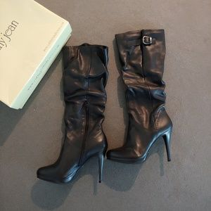 Cathy Jean leather boots